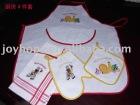 new kitchen sets 4pc towel gloves apron 4pc kitchen set