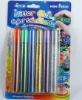 Colorful glitter glue pen for kids