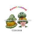 TZ-201301M Animal Snake Hat For Children,Party Animal Hat Kids