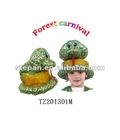 TZ-201301M Animal Snake Hat For Children,Party Animal Hat Kids