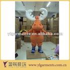 mascot cartoon character costume