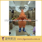 mascot cartoon character costume