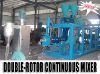 High Output Double -Rotor Mixer Masterbatch Machine