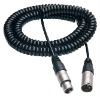 Spiral XLR cable