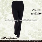 contrast color legging high fashion womens silhouette clothing