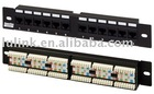 Front Access Wall Mount Patch Panel RJ-45, Category 6