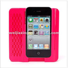 for apple iphone 4g 4s holder colorful multi-function loud-speaker