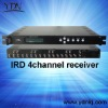 4 Channels Satellite Receiver( IRD)