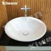 art round marble wash basin