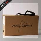 2012 Fashion customized cardboard shoe box(with cotton string(