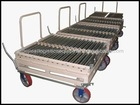 roller conveyor cart in machinery,rolling storage cart