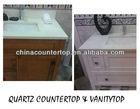 Quartz Bathroom Benchtops