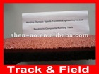 Professional athletic track and field