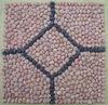 Decorative pebble tile
