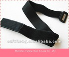 Black Elastic wrist band with Logo