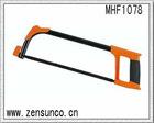 "12"" Oval Tubular Hacksaw Frame With Plastic Handle Soft Grip"