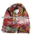 popular women wool scarf new design,cashmere scarf 2012