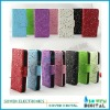 flower leather case for iphone 5 5G wallet leather case
