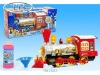 electric Bump-GO toy train with bubble music