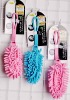 portable type mini microfiber chenille with plastic handles cleaning duster