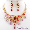 Fashion Rhinestone nice costume jewelry set