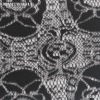 2013 lastest fashion design embroidered mesh lace fabric (D58)