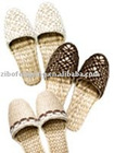 exquisite fashion comfortable straw lady&women slipper