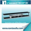 modern fashion glass stand table