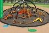 New design - Children outdoor amusement park equipment - Spider man
