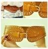 Hot sale lady's pu belt,fashion elastic belt,BE005