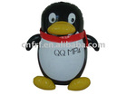 Inflatable penguin toy