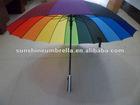 fashion umbrella 23'' 16 colors rainbow umbrella