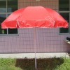 42 inch red beach umbrella