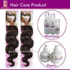 100% Human Hair Care Product For Wig-Hair Shampoo / Hair Oil / Elastin Hot Selling