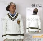 2011 Mens V-neck Sweater