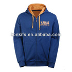 autumn polar fleece zipper-up sweatshirt sweatjacket with hood