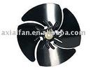 Metal fan blade