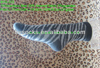 zebra crossing design soft bamboo fiber thermal socks