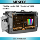 Wifi 3G Support 8 Inch Indash Car Computer PC for Toyota Corolla
