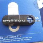 Black Nokia 21M-02 21M USB Wireless Router