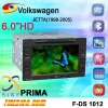 car DVD GPS VW JETTA 1998-2005 6 inch 3D PIP CANBUS