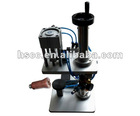 Hot sale Desktop Pneumatic Sem-automatic Perfume Bottle Sealing Machine