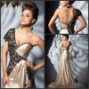 Famous Designer Hot Sale Elegant Taffeta Evening Dress