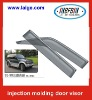 Mitsubishi Pajero door visor/rain guard with injection