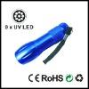 Aluminum 9 LED UV Torch