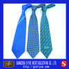 Polyester uniform logo school neckties