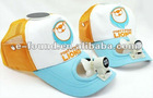 Baseball Cap With Solar Fan