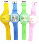 PC21S MOV'T Colorful and Fashionable Jelly Wristwatch