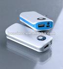5200mAh Emergency Power Bank for iPhone,ipad,ipod,Samsung,smartphones