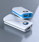 5200mAh Emergency Power Bank for iPhone,ipad,ipod,Samsung,smartphones